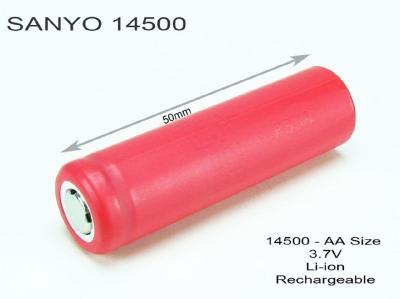 ACCU-14500-800MAH-SANYO