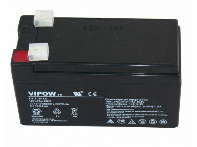 BAT-LEAD-12V 1.3AH-VIPOW