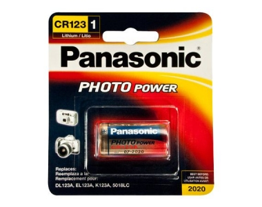 CR123A/V-PANASONIC