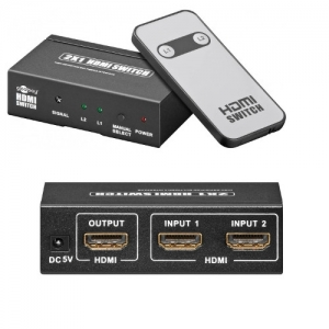 HDMI SPLIT-1/2+REMOTE