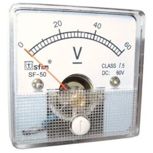INSTRUMENT-SF5012(DC)VOLTMETAR