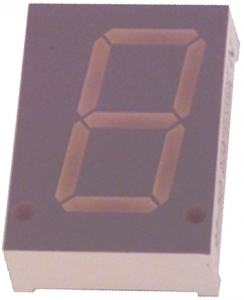 LED DISPLAY SC08-11EWA-KINGBRI