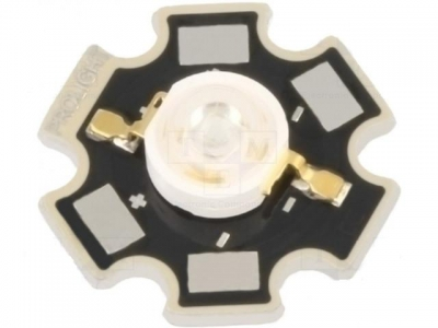 LED STAR-3W/BL