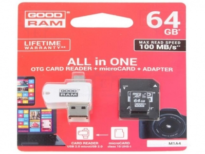 MEMORY CARD 64GB-GOODRAM