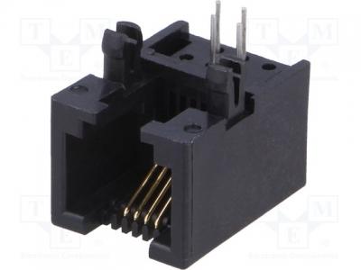 TEL-RJ11-PCB-AMPHENOL