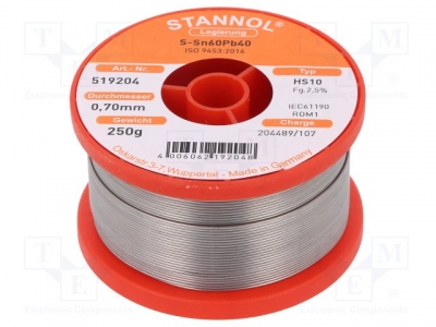 TIN 250/0.7MM-STANNOL